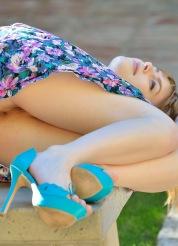 Alana Cucumber and Heels