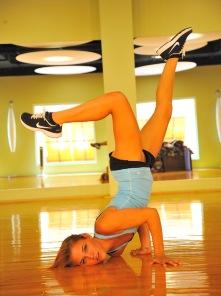 Anita the acrobatic girl