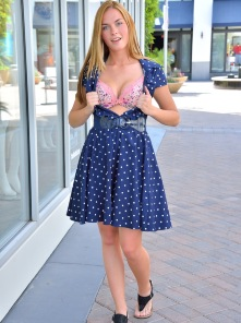 Bailee Cute Girl In Blue