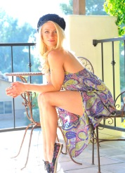 Bella yoga and dress