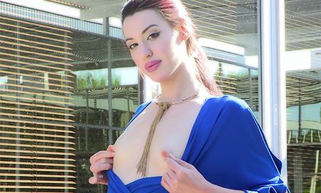 Cali Blue Dress Beauty