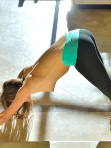 Carlie Stretching For Yoga