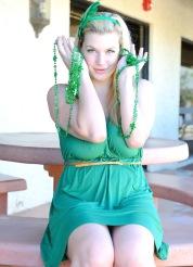 Danielle Great Green Goddess