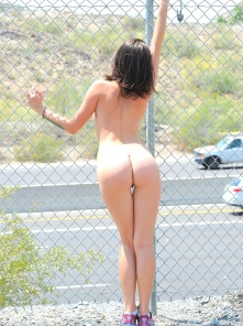 Gina by the highway