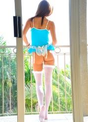 Jody lingerie play