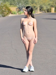 Jog masturbation with Lacey