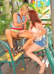 Lena and Melody Public Fun