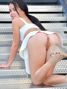 Meagan Little White Dress - Picture 11