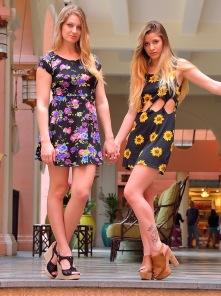 Nicole and Veronica Gorgeous Tourists