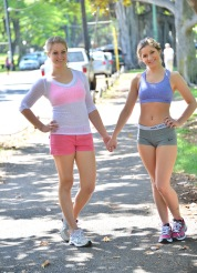 Nicole and Veronica Kapiolani Park