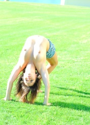 Stacey Tiny Gymnast