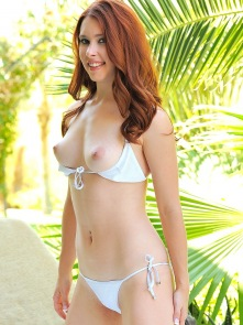 String bikini with Melody