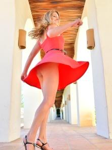 Veronica Hottie In Red