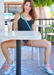 Ariana Teenage Flasher