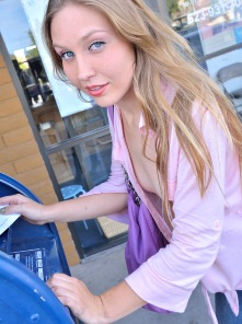 Brianna Timid in Public