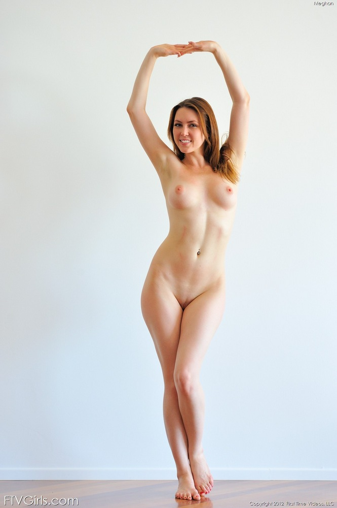 Nude dancing girl