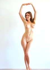 Dancing nude with Meghan