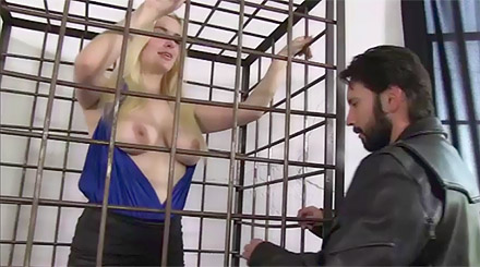 Danielle caged animal