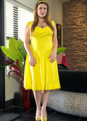 Danielle Yellow Dress