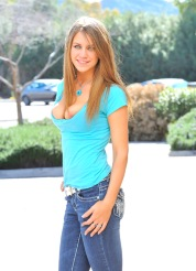 Delilah blue jean hottie