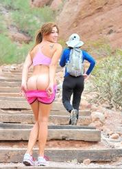 Hannah the nude hiker