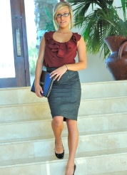 Kennedy the hot teen secretary