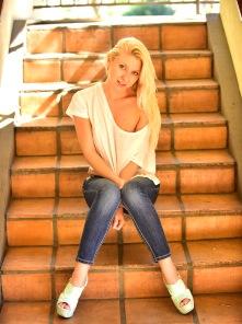 Krystal Spreads In Heels