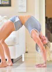 Lila Model Who Loves Yoga
