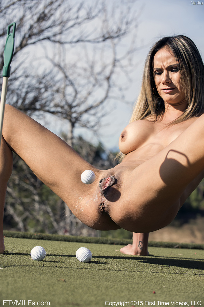 Attractive Naked Old Golfers Gif