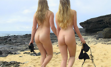 Nicole and Veronica Hawaii Honeys