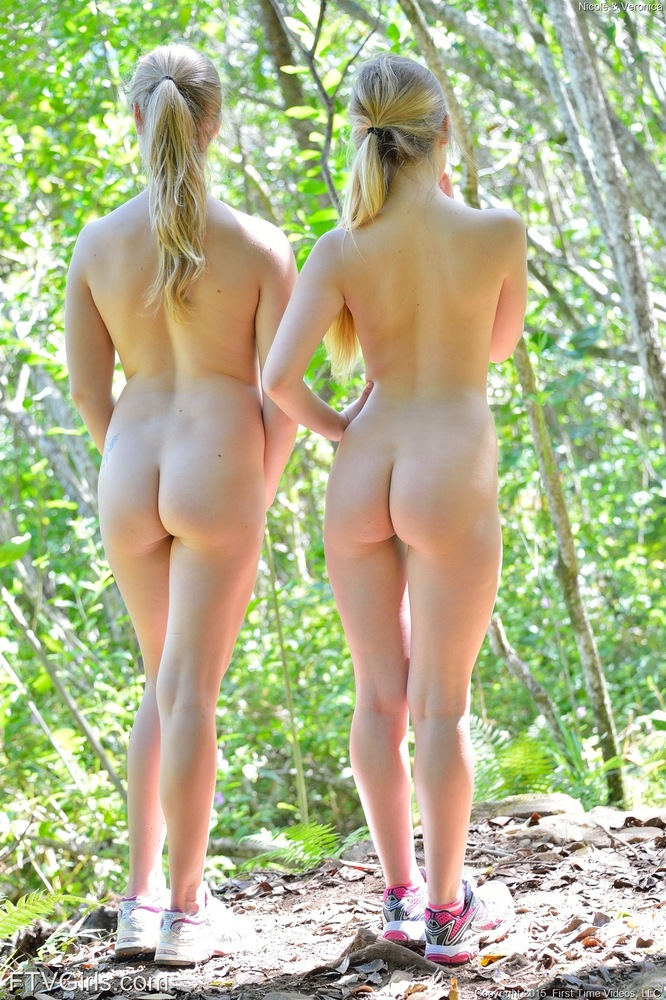 girls naked and tied