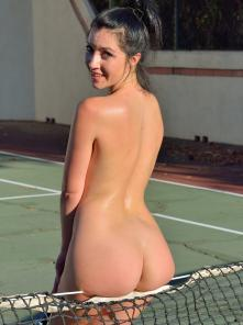 Carrie-II Buttalicious Tennis Picture 14