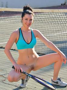 Carrie-II Buttalicious Tennis Picture 2