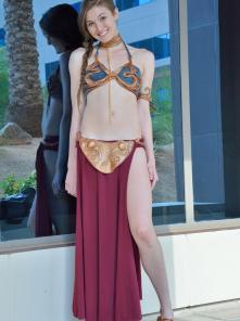 Eva-II Princess Leia Gone Bad Picture 1