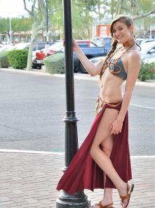 Eva-II Princess Leia Gone Bad Picture 9