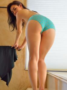 Lucie Just In Blue Panties Picture 10