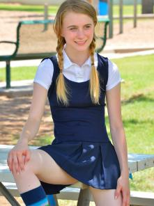 Sharlotte Schoolgirl Style Picture 4